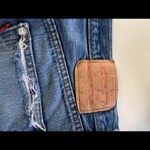 Vintage rare find Levi shorts 501s